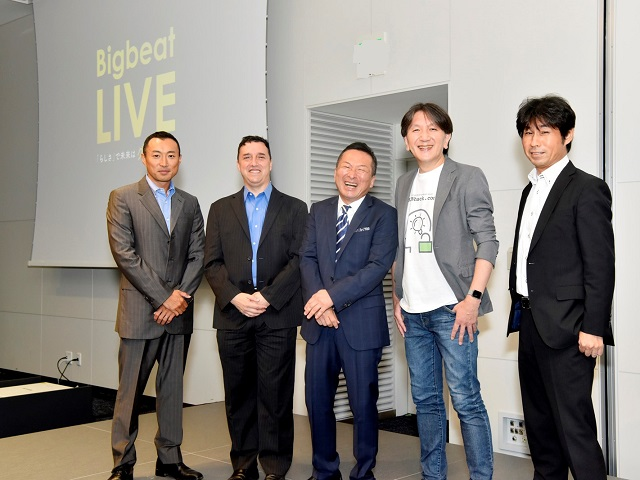 Past Bigbeat LIVE Speakers