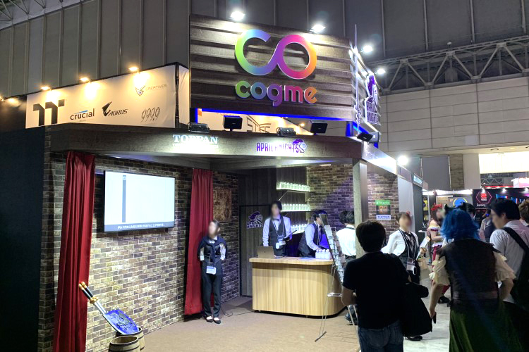 April Knights at Tokyo Game Show 2019
