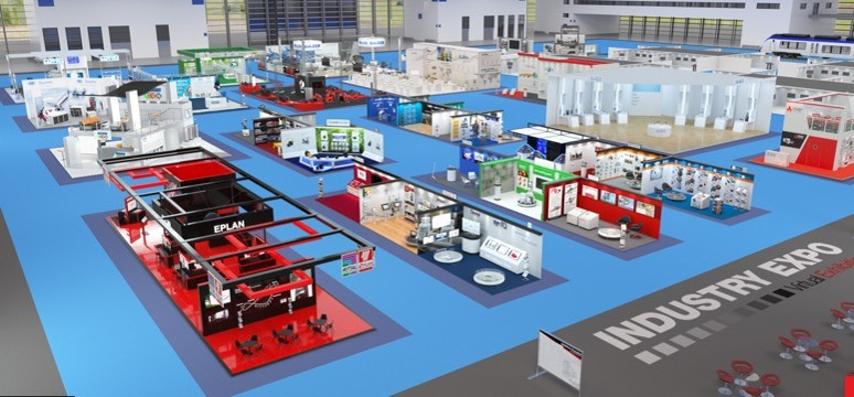 Industry Expo, a virtual platform for B2B manufacturing companies to promote their business overseas