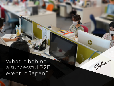 What is behind a successful B2B event in Japan?